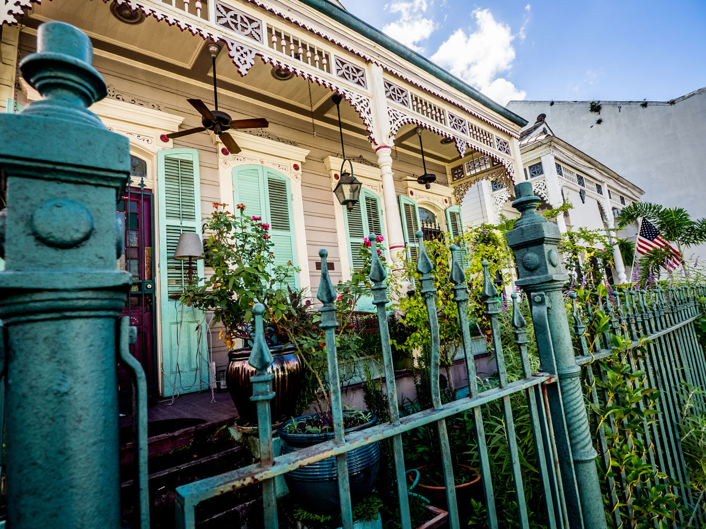 Homes in the French Quarter New Orleans